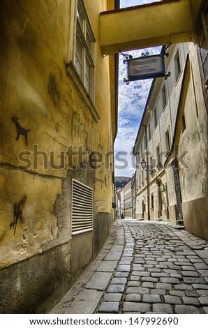 Ancient architecture of Bratislava - Slovakia
