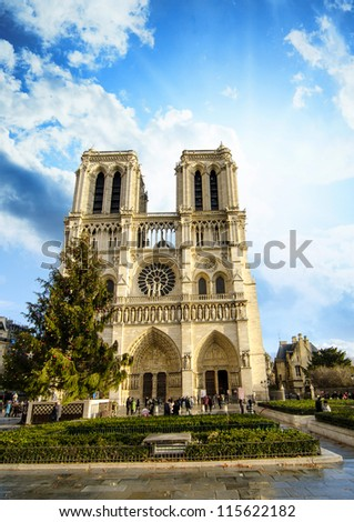Ancient Architecture of Paris in France - Europe