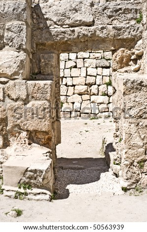 ancient bethesda in Jerusalem
