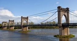 ancient bridge in the Loire