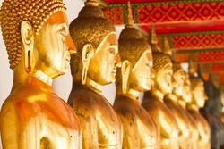 Ancient Buddhas in Thailand