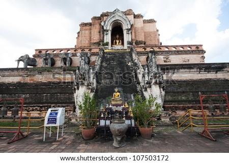 Ancient Buddhist Temple Thailand