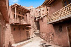 Ancient building in zoroastrian village Abyaneh, Iran