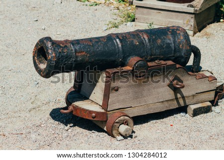 ancient cannon, ancient medieval weapons, antique weapons #1304284012