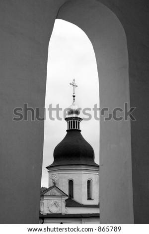 Ancient cathedral St. Sophia in Kiev, Ukraine