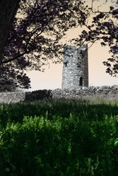 Ancient Celtic Monastic Site at Oughterard, Ireland