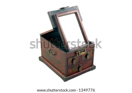Ancient Chinese Makeup Cosmetics Box
