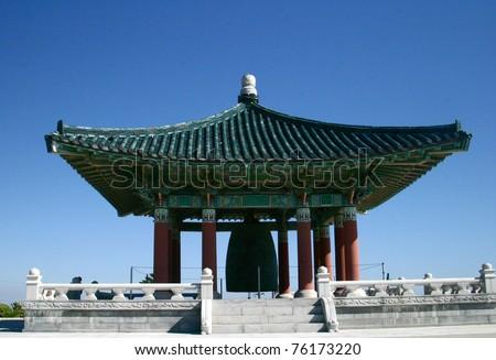 Ancient chinese pagoda palace at Palos Verdes, CA