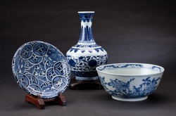 Ancient chinese porcelains for collectible