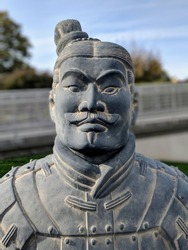 ancient Chinese terracota soldier