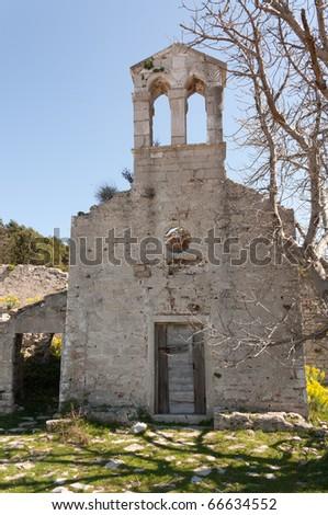 Ancient church in Osor - Croatia