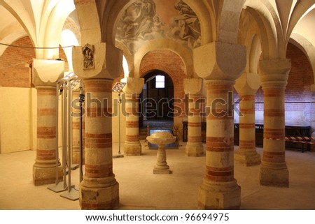 Ancient Church of St Pietro ( Asti Italy )