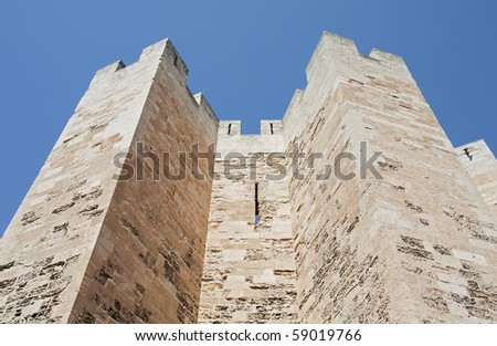 """Ancient church """"Saint Victor"""" of """"Marseille"""" in France"""