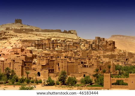 ancient city of Ait Benhaddou in Morocco