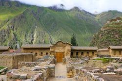 Ancient city of Machu Picchu in Peru. South America