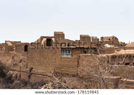 Ancient city of Meybod in Iran