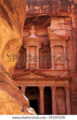 Ancient City of Petra Built in Jordan