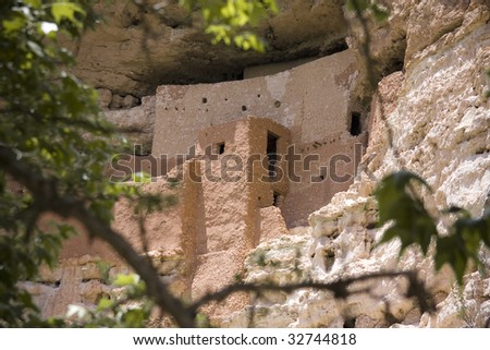 Ancient cliff dwelling