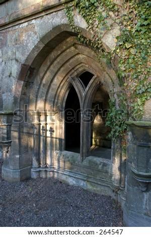 Ancient Cloister, Culross, Fife, Scotland