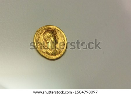 Ancient coins of ancient Rome