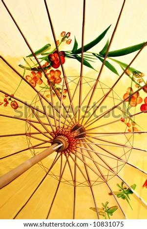 Ancient decorative Chinese style umbrella