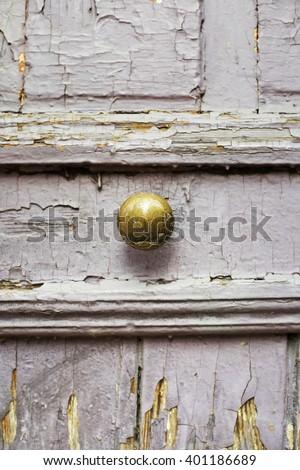 ancient door handle in Tbilisi,Georgia