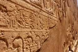 Ancient Egyptian hieroglyphics, stone carving reliefs, historical Egypt