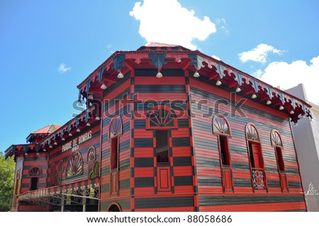 Ancient firehouse in Ponce, Puerto Rico