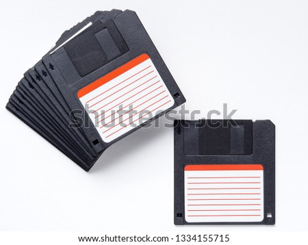 Ancient floppy disk technology