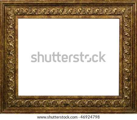 Ancient frame for a picture