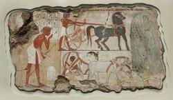 Ancient fresco on the stone 1