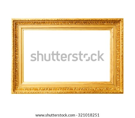 ancient gold frame