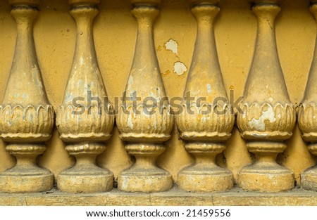 ancient grunge colonnade column  background