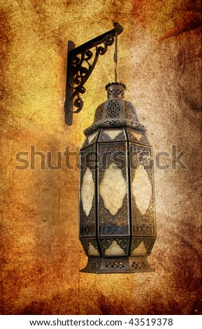Ancient grungy elements in Cairo Citadel - stock photo
