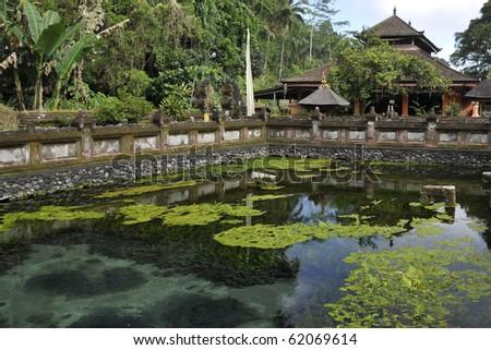Ancient Hindu Temple in Bali