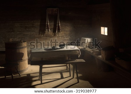 Ancient house interior