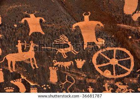 Ancient Indian Petroglyph