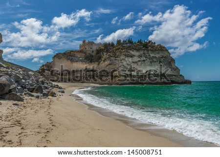 ancient Italian town of Tropea