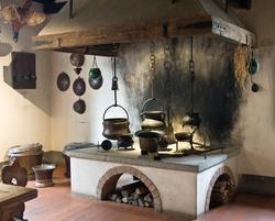 Ancient kitchen (Kyburg castle, Switzerland)