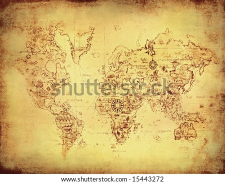 ancient map old world