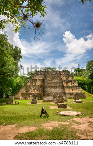 Ancient Mayan Ruins in the Country of Belize