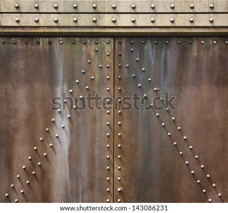 Metal Wall Texture Ancient Metal Wall Texture