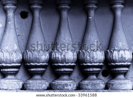 ancient ogrunge colonnade column  background