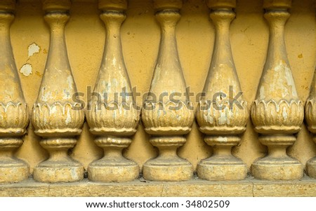 ancient ogrunge colonnade column  background