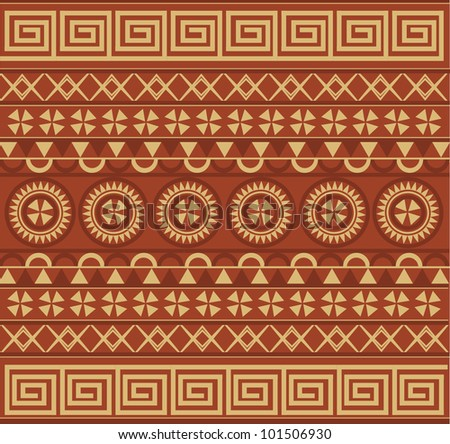 Ancient Old Pattern