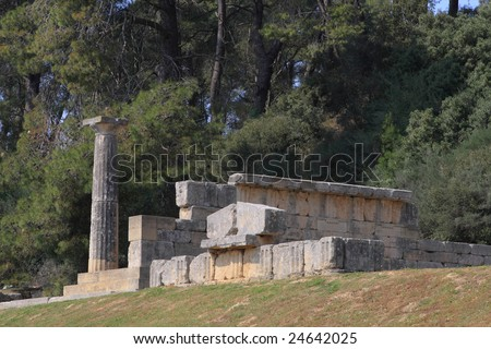 Ancient Olympia the cradle of the olympic games in Greece #24642025