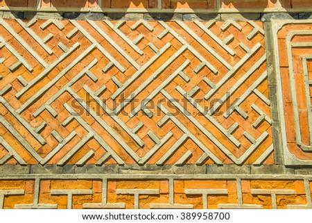 Free Photos Ancient Patterns And Symbols On A Wall At Gyeongbokgung