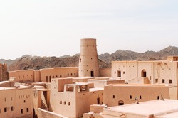 Ancient Portuguese Fort in Oman
