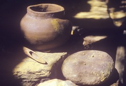 Ancient pottery, Tasalagi Village in the Cherokee Nation, OK