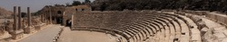 Ancient Roman city ruins of Beit shean in northern Israel